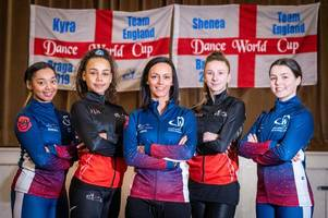 Four dancers selected for World Cup want to 'put Nottingham on the map'