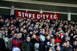 Michael O'Neill tips cap to the 1,182 Stoke City fans at West Brom