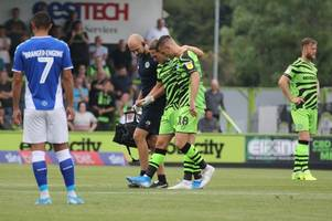 wales international and ex-fulham man misses penalty on comeback game for forest green rovers