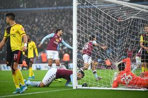 aston villa fans confident of premier league survival after dramatic watford win