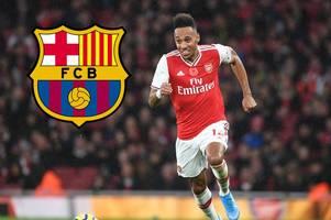 arsenal fans will love pierre-emerick aubameyang's promise amid barcelona 'talks' over loan move
