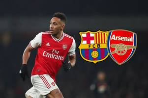 arsenal supporters name the barcelona player they want in exchange amid aubameyang loan 'talks'