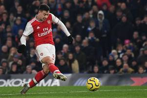 pierre-emerick aubameyang reacts on social media to what gabriel martinelli did against chelsea
