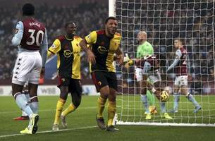 Villa scores late winner to beat Watford 2-1 in EPL