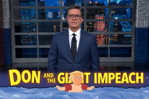 colbert breaks down how he thinks mitch mcconnell is fixing trump's impeachment trial (video)