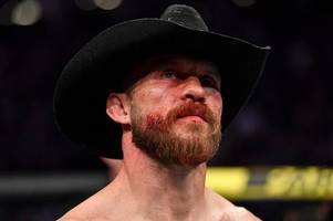 donald cerrone banned by ufc after suffering facial fractures in conor mcgregor defeat