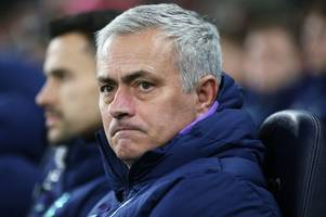 jose mourinho 'losing tottenham dressing room' with players frustrated over performances