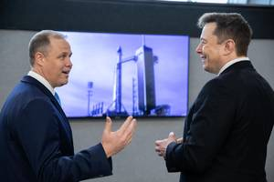 NASA administrator on the year ahead: 'A lot of things have to go right'