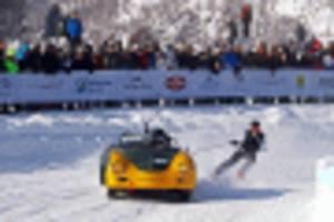 Porsche heir organizing another ice racing weekend