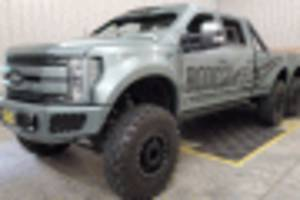 six-wheel indomitus 2017 ford f-550 super duty can be yours for $135,000