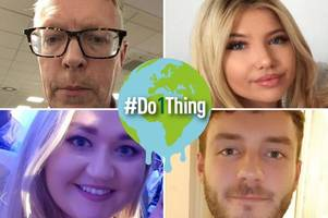 what hull live staff are doing to as part of #do1thing to tackle climate change