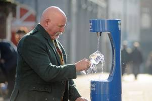#do1thing: plans are in the pipeline for a water bottle refill station in paisley