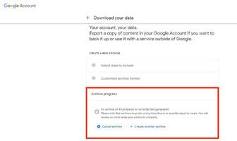 'what is google takeout?': how to use google's simple tool for downloading all of your account data at once