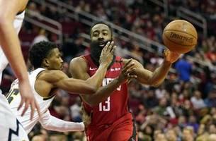 Westbrook, Harden lead Rockets past Nuggets, 121-105