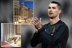 cristiano ronaldo to launch new £13m hotel on madrid's famous gran via
