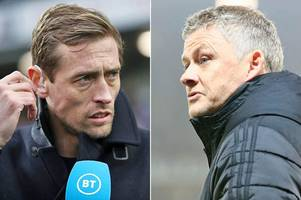 peter crouch highlights 'most damning stat' about man utd squad with liverpool comparison