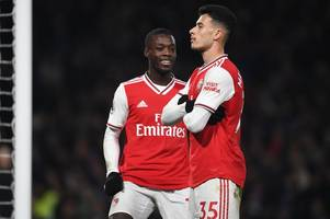 Who Arsenal plan to drop when Aubameyang returns after Gabriel Martinelli form