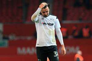 fans left with this inescapable feeling as george thorne leaves derby county