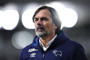latest transfer plans - derby county boss phillip cocu talks targets, budgets and hopes
