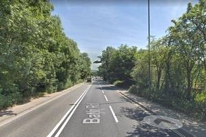 why there have been delays on the a4 bath road this week