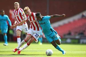 stoke city and bristol city linked with january move for derby county winger