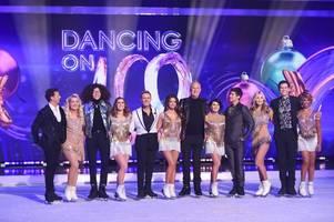 dancing on ice shake-up as joe swash's professional partner alexandra schauman replaced
