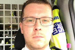 How Britain's 'hardest cop' PC Stuart Outten survived ferocious machete attack with 2ft rusty blade