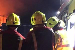 police investigate after car set on fire