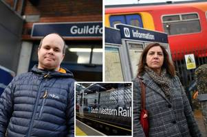 the commuters who have had to change their lives due to south western railway service