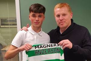 blantyre kid tipped for the top after signing for celtic