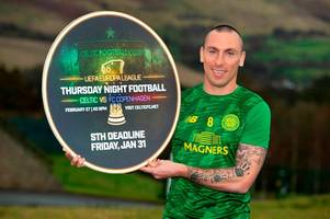 celtic skipper scott brown blasts alan power over horror tackle as he launches leigh griffiths defence
