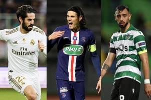 transfer news live: arsenal 'agree' deal, chelsea receive isco update, bruno fernandes deadline
