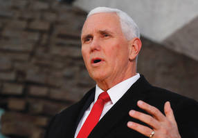 us vice pres. pence vows to stand with israel against iran