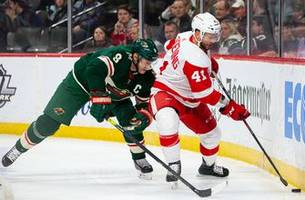 staal, zuccarello help wild beat red wings 4-2