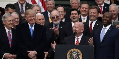 scores of republican lawmakers enriched themselves off the trump tax cuts, report says