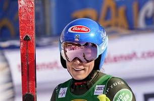 Shiffrin masters World Cup downhill for 1st win in 2020