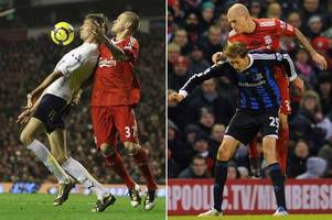peter crouch lifts the lid on ex-liverpool pal martin skrtel's dirty 'stamping' tactics