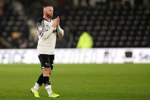 'well played, mr cocu!' - derby county fans react to latest wayne rooney news