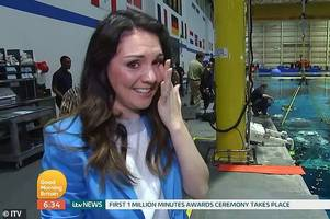 Good Morning Britain presenter Laura Tobin breaks down and weeps during interview