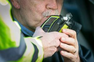 Almost 100 people arrest for drink driving over Christmas in Gloucestershire as rates increase