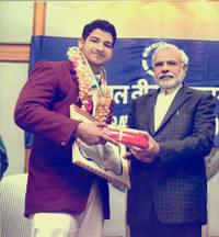 indian wrestler labhanshu sharma loves cooking shahi paneer and chapati
