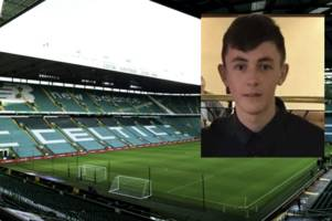Celtic fans to pay tribute to 'one in a million' Coatbridge teen with minute's applause