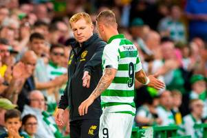 neil lennon in leigh griffiths 'witch hunt' claim as celtic boss shoots down tv experts