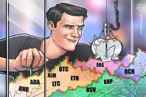 price analysis jan 24: btc, eth, xrp, bch, bsv, ltc, eos, bnb, xlm, ada