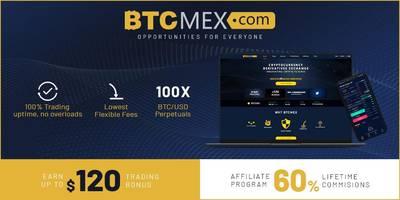crypto exchange btcmex rallies traders in latest affiliate and $120 trading bonus programs