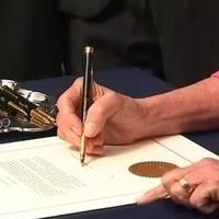 pelosi's impeachment pens aren't 18-karat gold