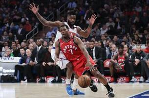 Lowry, Siakam lead Raptors past Knicks for 6th straight win