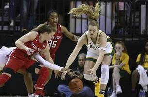 no. 2 baylor routs texas tech 87-79 to extend big 12 record