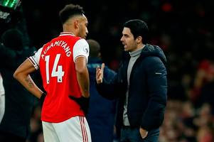 Arsenal's Pierre-Emerick Aubameyang boost as Barcelona abandon transfer plot