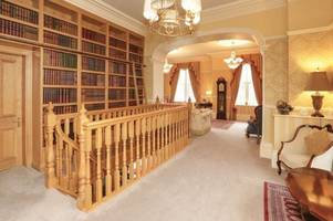 inside the £1.5m derbyshire mansion with a swimming pool, bar and a gym